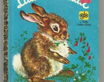 1969 Little Cottontail  Little Golden Book