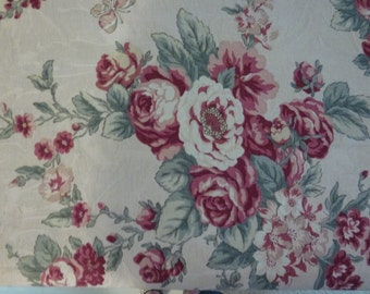 """31"""" of  Barkcloth Type Fabric by  Kingsway Fabrics with Roseguard Finish  56"""" Wide"""
