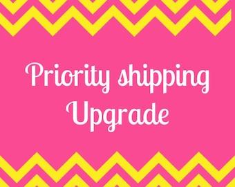 Rush & Priority Shipping upgrade