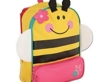 Personalized Stephen Joseph Bee Backpack