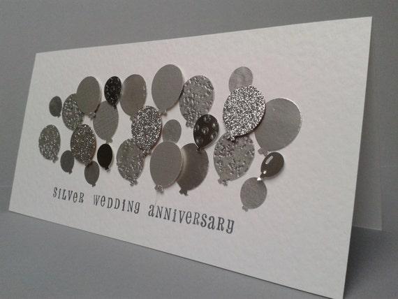Silver wedding anniversary card ideas Top wedding blog world