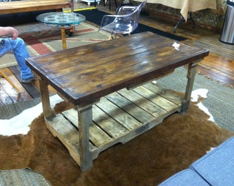 Pallet Coffee table, reclaimed wood coffee table