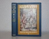 Little Lord Fauntleroy by Frances Hodgson Burnett 1928, Antique Books, Vintage Books, Illustrated by Reginald Birch, Blue Book, Blue Decor