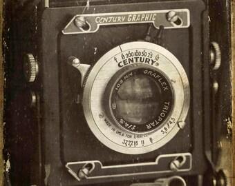 1949 Century Graphic Camera, Photography, Vintage Camera, Still Life Photography
