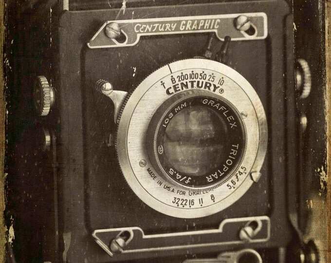 1949 Century Graphic Camera, Photography, Vintage Camera, Still Life Photography