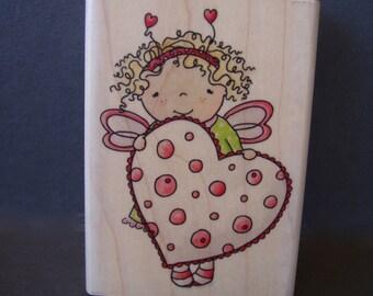 Masie Bell Love Stamp . Whipper Snapper Designs Inc . CZ 113 . Valentine Heart
