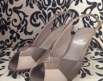 Vintage shoes size 6 1/2