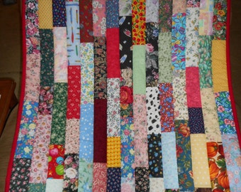 Handmade Baby Quilt / Small Quilt / Throw quilt