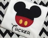 Personalized Mickey Onesie for Brayden
