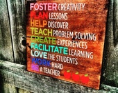 Be a teacher wall decor