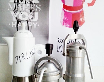 Retro coffee makers