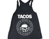 TACOS Woman's Foodie tank top