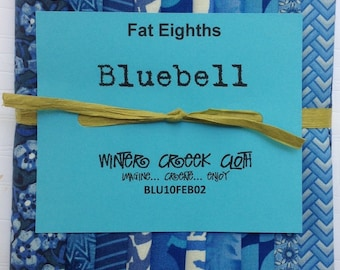 Blue Bell Fat Eighths Bundle (BLU10FEB02)