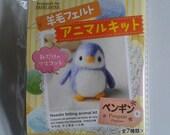 Needle Felt kit - Penguin