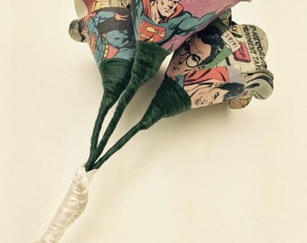 Comic Book Bouquet - Bridesmaid Bouquet - Bouquet made from Comic Books