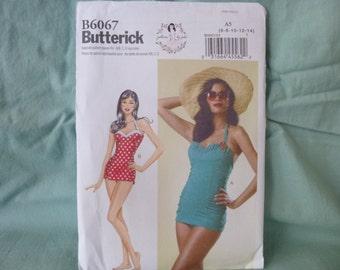 Butterick 6067: Retro Bathing Suit/ Sunsuit