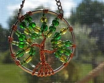 Small Tree of Life Sun Catcher