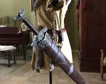 Steel Sword with Steel Scabbard