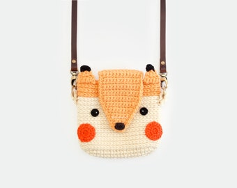 Crochet Case for Fuji Instax Camera - Cute Fox