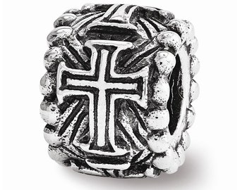 Sterling Silver Cross Spacer Bead