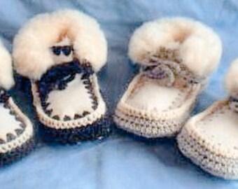 Reykfjiord Childrens SHEEP SKIN slippers