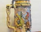 Antique German Girmscheid Gnome Stein Das Gnomenfest 82/22