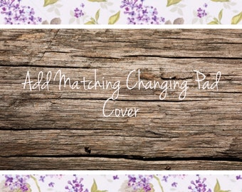 Add A Matching Changing Pad Cover