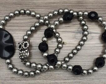 """Shop """"owl bracelet"""" in Jewelry Sets"""