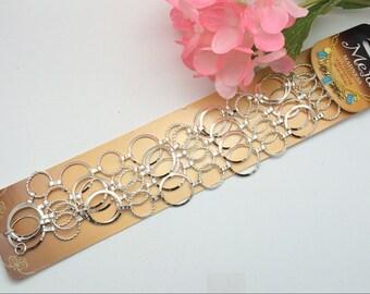 Round Link Chain, jewelry supplies, jewelry necklace chain, Destash, bracelet supplies, Dyi jewelry
