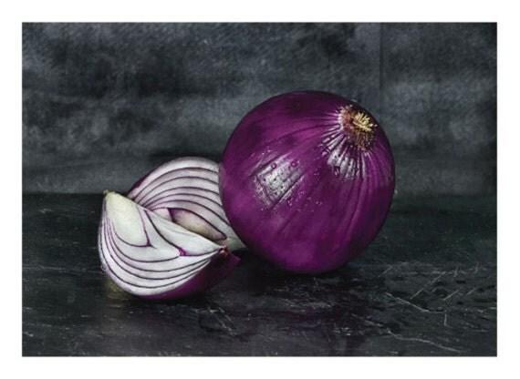 Purple Onion Still Life