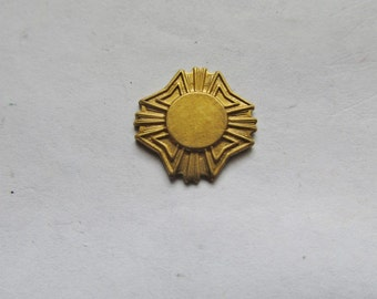 Raw Brass Stamping #B12