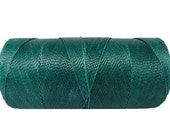 Bracelet Cord 0.8mm - 1 spool - Waxed Polyester Cord - Knotting Cord - Teal