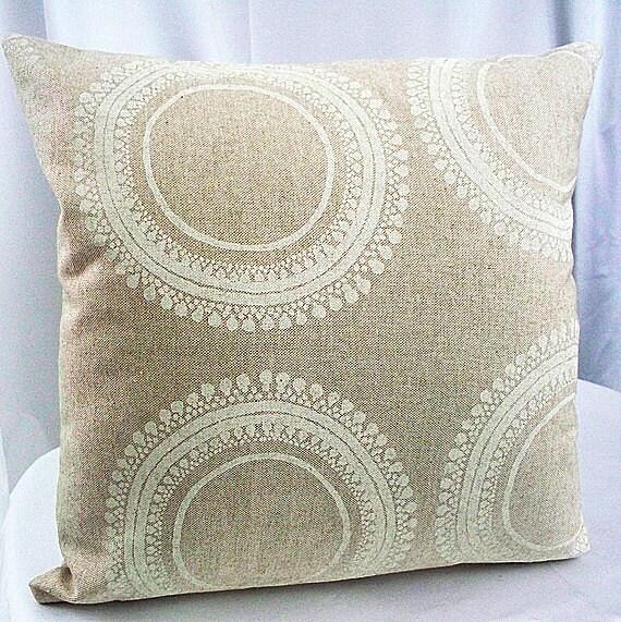 Beige pillow cover Beige pillow Beige throw pillow Tan pillows