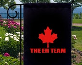 Eh Team Canada Maple Leaf Small Garden Flag Home Gifts Events