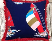 RESERVED FOR NANCY:  Regatta Championship Pillow
