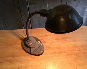 Vintage Iron Desk Lamp