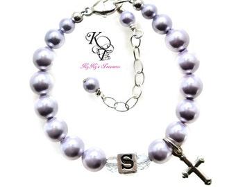 Baby Bracelet, Baptism Bracelet, First Communion Gift, Personalized Bracelet, Personalized Baby Gift, Baptism Gift, Personalized Gift, Baby