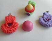 Lip Balm Holder, EOS Lip Balm Holder, Lip Balm Keychain, Keychain, Crochet Keychain
