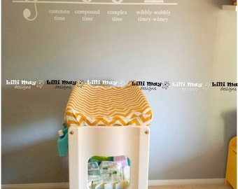 Nappy Change Pad Cover - Wipeable - PREMIUM NO MESS // Water resistant // Stain Resistant // You pick fabric  - Custom made to fit your pad