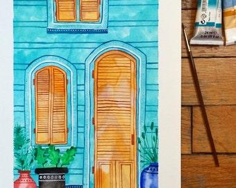 Door One Art Print