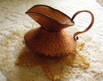 Vintage Copper Pitcher Jug/Gregorian