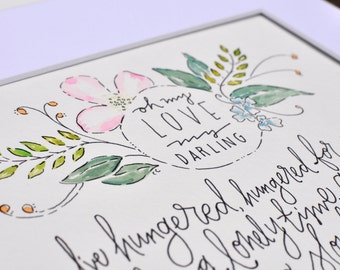 Wedding Song Lyrics Vows Painting