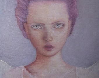 Painting_Borderline I, 2013, Oil on wood