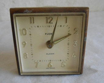 Tiny Little Vintage Alarm Clock made in West Germany