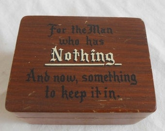 Unavailable listing on etsy for Gift for man who wants nothing