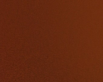 "Microfiber Suede Upholstery Fabric - RUST - 58"" Width Sold By The Yard Passion Suede Microsuede"