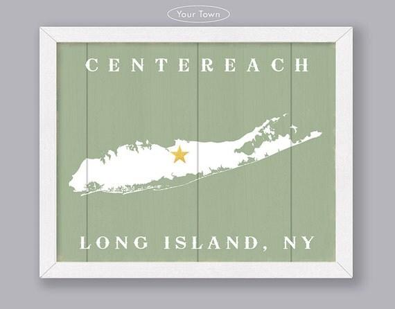 Long Island Custom Wood Sign Early American Series
