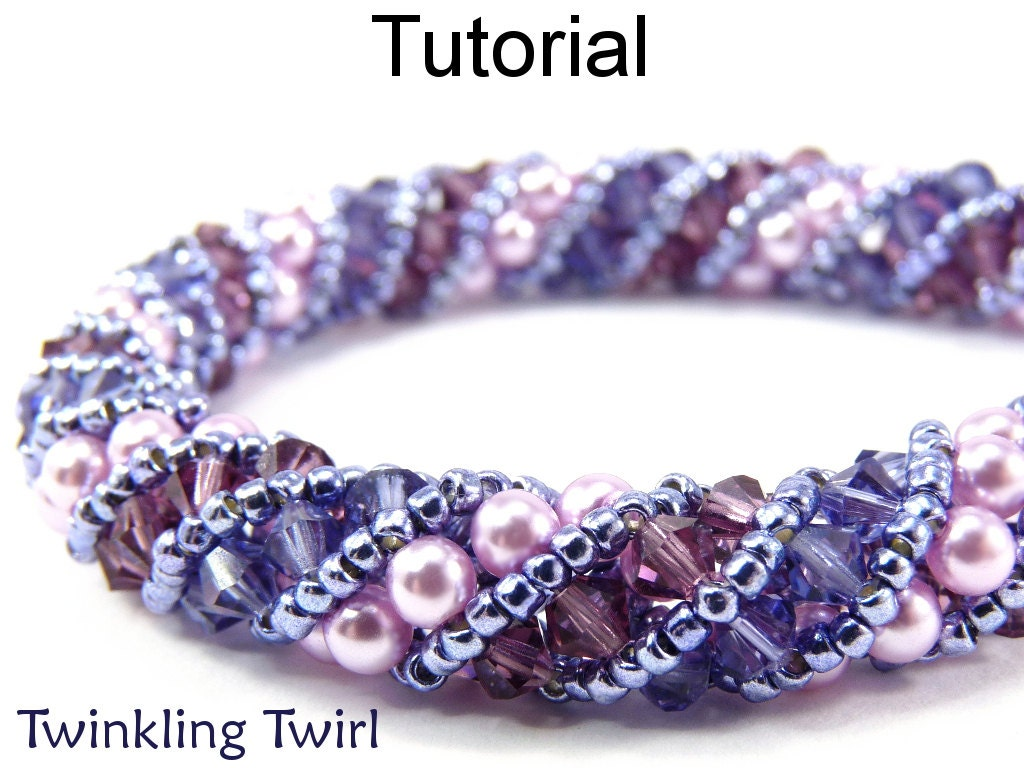 Russian Spiral Stitch Beading Patterns - Jewelry Making Tutorials ...