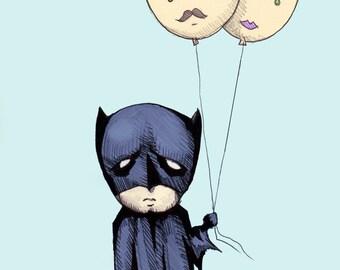 Dead Parent Balloons Fine Art Print