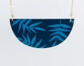 Necklace TROPICAL - Navy - Cobalt -